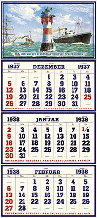 Uitvinding van de 3-maandskalender