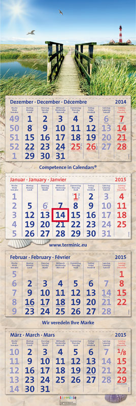 Creatieve kalenders