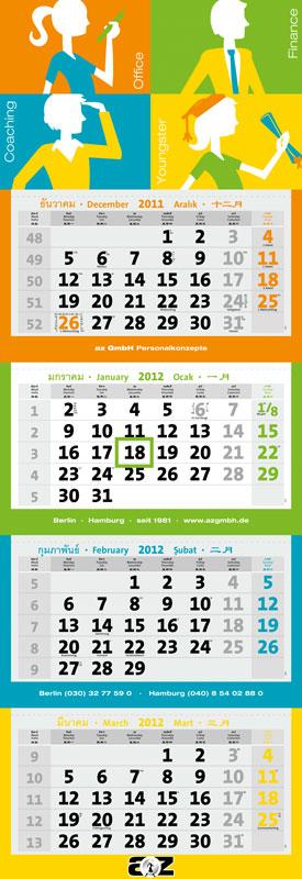 Individuele kalenders op maat
