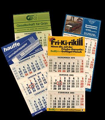 Van de Bremer scheepvaartkalender naar een wereldwijd succesvol assortiment reclamekalenders