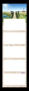 5-Maandskalender super 1 cinco Voorbeeld