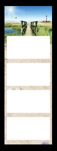 4-Maandskalender super 1 Quadro Voorbeeld