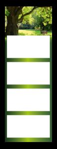 4-Maandskalender super 2 Quadro Voorbeeld